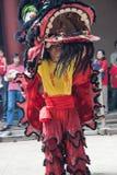 Año Nuevo chino, la danza de león Imagen de archivo libre de regalías