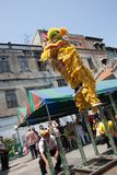 Año Nuevo chino, la danza de león Imágenes de archivo libres de regalías