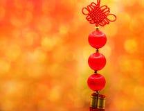Año Nuevo chino, lingotes chinos del oro y st del chino tradicional Fotos de archivo libres de regalías