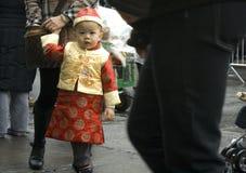 Año Nuevo chino; New York City Imagen de archivo libre de regalías