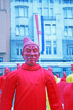 Año Nuevo chino 4713o, 3, Zagreb, Croacia Fotos de archivo