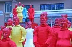 Año Nuevo chino 4713o, 8, Zagreb, Croacia Foto de archivo