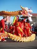 Año Nuevo chino Performace Imagenes de archivo