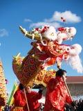 Año Nuevo chino Performace Imagen de archivo libre de regalías