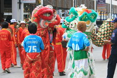 Año Nuevo chino, Tailandia. Fotos de archivo libres de regalías