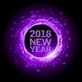 Año Nuevo como fuegos artificiales abstractos libre illustration