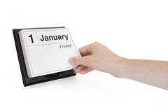 Año Nuevo con nuevos principios Fotografía de archivo