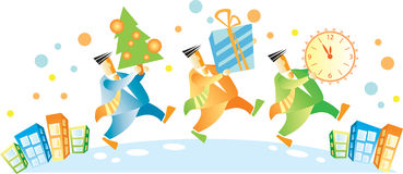 Año Nuevo corporativo Fotografía de archivo libre de regalías