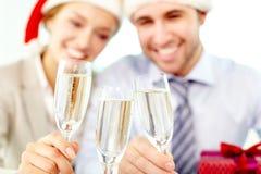 Año Nuevo corporativo Imagen de archivo libre de regalías