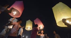 AÑO NUEVO DE ASIA TAILANDIA BANGKOK Fotografía de archivo