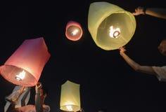 AÑO NUEVO DE ASIA TAILANDIA BANGKOK Fotografía de archivo libre de regalías