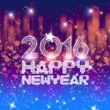 Año Nuevo de centelleo Imagen de archivo libre de regalías