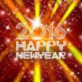 Año Nuevo de centelleo Fotos de archivo libres de regalías