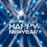 Año Nuevo de centelleo Imágenes de archivo libres de regalías