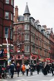 Año Nuevo de China en la ciudad de Londres China Fotografía de archivo