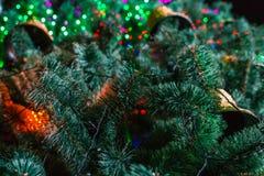 Año Nuevo de la campana de la Navidad Foto de archivo libre de regalías