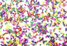 Año Nuevo de la celebración del confeti festivo Imagenes de archivo