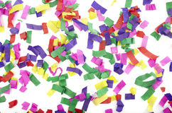 Año Nuevo de la celebración del confeti festivo Fotos de archivo