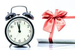 Año Nuevo de la cuenta descendiente Imagen de archivo libre de regalías