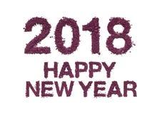 Año Nuevo de la enhorabuena 2018 Foto de archivo libre de regalías