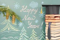 Año Nuevo de la escuela Foto de archivo libre de regalías