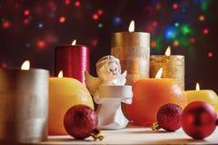 Año Nuevo de la Navidad de los días de fiesta Imagen de archivo