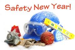 Año Nuevo de la seguridad Fotos de archivo libres de regalías