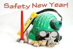 Año Nuevo de la seguridad Imágenes de archivo libres de regalías