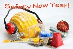 Año Nuevo de la seguridad Foto de archivo