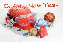 Año Nuevo de la seguridad Fotografía de archivo
