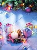 Año Nuevo de la vela Imagen de archivo libre de regalías