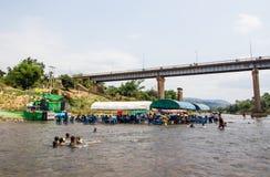 Año Nuevo de Laos Imagen de archivo libre de regalías