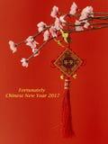 Año Nuevo de Lucky Chinese Fotos de archivo