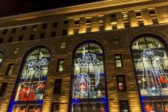Año Nuevo de Moscú Fotos de archivo libres de regalías