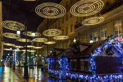 Año Nuevo de Moscú Fotografía de archivo