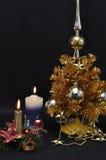 Año Nuevo de oro Fotos de archivo libres de regalías