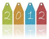 Año Nuevo de papel Fotografía de archivo