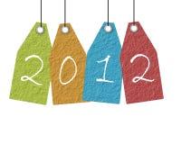 Año Nuevo de papel Imagen de archivo libre de regalías