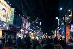 Año Nuevo de Seul en la noche Imagen de archivo