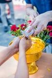 Año Nuevo de SongkranThai Imagen de archivo libre de regalías