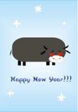 Año Nuevo de un toro Foto de archivo