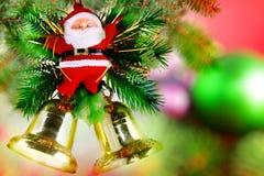 Año Nuevo decoración-Papá Noel Claus. Imagenes de archivo