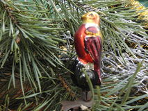 Año Nuevo Decoraciones de la Navidad vendimia antigüedades Imagenes de archivo