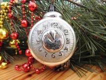 Año Nuevo Decoraciones de la Navidad vendimia antigüedades Fotografía de archivo