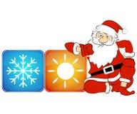 Año Nuevo del aire acondicionado Imágenes de archivo libres de regalías