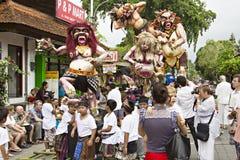 Año Nuevo del Balinese Foto de archivo libre de regalías