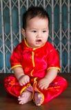 Año Nuevo del bebé Fotos de archivo libres de regalías