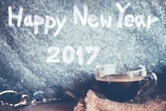 Año Nuevo del café Imagenes de archivo