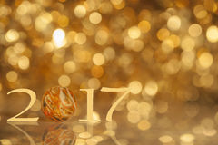 Año Nuevo 2017 del concepto Imagen de archivo libre de regalías