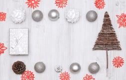 Año Nuevo del día de fiesta de la Navidad Imágenes de archivo libres de regalías